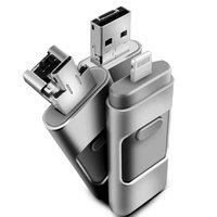 Wholesale NEW in GB iphone flash drive flash usb disk for iphone ipad ipod computer