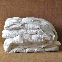 Wholesale 100 pure white duck goose down winter quilt