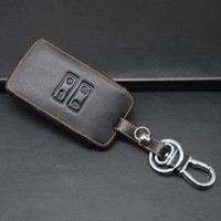 Wholesale High quality Genuine Leather Car Key Fob Case Holder Bag For Renault Kadjar Buttons