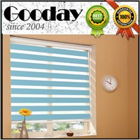 Wholesale Zebra curtain for home day and night curtain dule layer roller blind combi curtain elegance curtain rainbow blind