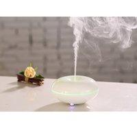 Wholesale CAROLA Electric Ultrasonic Aroma Diffuser ml Ceramic Oil Diffuser Wood Grain Room Diffuser for home white