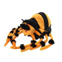animated spiders - Halloween Animated Jumping Spider Tabletop Decoration