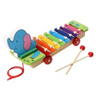 Wholesale New Learning Education Wooden Xylophone For Children Kid Musical Toys Xylophone Wisdom Juguetes Note Music Instrument