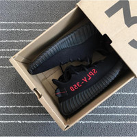 Wholesale Limited Bred V2 CP9652 New Men Women Boost v2 Black Red Kids Sport Shoes With Box Size v2 cp9652 True Boost