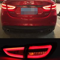 Wholesale For Mazda Atenza M6 LED Tail Lights Rear Lamps Assembly Replacement