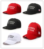 Wholesale Make America Great Again Donald Trump Hat Republican Adjustable Embroidery Caps America Vote Caps designs