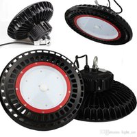 Wholesale 150W UFO LED High Bay Lighting REPLACE W HPS MH Bulbs Equivalent K Super Bright Commercial Lighting LED High Bay Lights