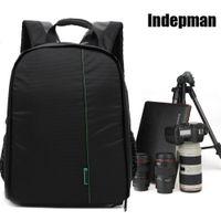 Wholesale 2016 Video Photo Digital Camera Shoulders Padded Backpack Bag Case Waterproof Shockproof Small Bags for camera bag