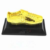 award base - 15 cm Length Flat Base Gold Boot Trophy Model Top Scorer Award Soccer Customize Carved Words Personalized Diy Resin Material