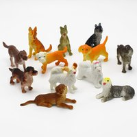artificial dogs - 120Pcs different kinds artificial Medium sized pet dog Animals model for kids Education Toys gift