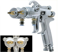 Wholesale Dual head spray gun Competitive price and quality guarantee dual head spray gun for Silver mirror and nano painting