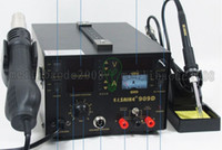 Wholesale 220V SAIKE D Soldering Hot air gun rework station in Soldering iron Hot Air Gun Power Supply MYY