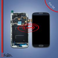Acheter Samsung lcd-Pour Samsung Galaxy S4 i9500 i337 M919 Touch Ecran LCD Numériseur Remplacement avec livraison DHL sans cadre