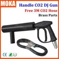 Wholesale Stage effect gun CO2 Blaster CO2 Cryo Gun Handheld co2 Gun Co2 Jet machine Special Effects fog machine co2 dj gun