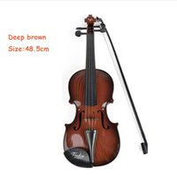 Wholesale Popular String Instruments Children s Enlightenment Small Plastic Durable Emulational Violin For Kids CM Mini Violin Color