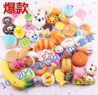 big panda - New Arrival set Random Sent Kawaii Squishies Cupcakes Panda Bun Toasts Multi Donuts