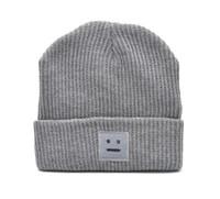 Prezzi Wool hat-L'autunno e l'inverno piazza sorriso maglia tessuto a maglia berretto berretto di lana ispessimento mantenere gli amanti caldo berretto paio cappello