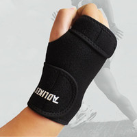 Wholesale AOLIKES Adjust Wristband Steel Wrist Brace Wrist Support Splint Fractures Carpal Tunnel Sport Sprain Mouse Hand Wristbands A