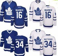 Wholesale Toronto Maple Leafs hockey jersey Men s Mitchell Marner Auston Matthews Stitched Embroidery Logos Hockey Jerseys cheap