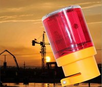 airport tower - Solar energy warning lights traffic lights tower crane Airport