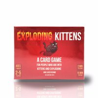animal board games - Fun NSFW and Red Edition Exploding Kittens Cards Humanity Board Game with Familay and Friends Party Playing Card Game