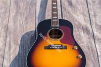 al por mayor cuello de la guitarra 21-Rhyme's Custom Guitar 41 pulgadas de panel de picea de madera contrachapada, madera de palo de rosa contrachapada, diapasón de palisandro, fundición cuello de la etiqueta