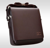 Wholesale Brand Designer Men Genuine Leather Handbag Black Brown Briefcase Laptop Shoulder Bag Messenger Bag size