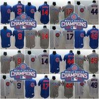 Cheap Baseball 2016 World Series Champions Jersey Best Men Short Chicago Cubs Jersey