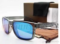 revo sunglasses a3ux  MOQ=5SET MEN Polarized sunglasses TR90+10 REVO Colorful sun glasses UV400  Bicycle Glass woman to peak sunglasses with case FREE SHIPPING