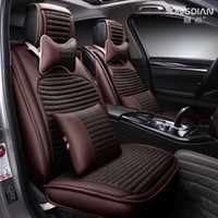 Wholesale The new car cushion modern Sonata eight generations of nine cable cable four seasons universal all inclusive leather seat cover