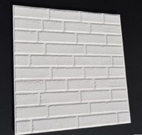 Wholesale 60x60CM d flexiable brick sticker brick wallpaper sticker home wall decorative sticker