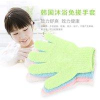 Wholesale bath glove designer bathroom bathing gloves