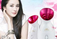 Wholesale Gold rice steamed face device kd2331A home beauty device replenishment moisturizing steam face machine nano ion thermal sprayer