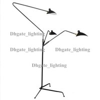 Wholesale STANDING LAMP ARMS by Serge Mouille floor light contemporary lighting industrial loft style