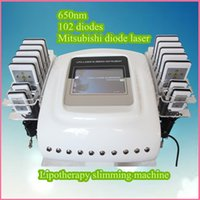 paypal free shipping - Laser liposuction machines facial equipment body sculpting machine nm pads paypal beauty machine