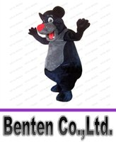 bear books - Custom made jungle book baloo bear Mascot Costumes character Costumes for Chirstmas Party Adult Size Fancy Dress factory direct sale LFA