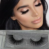 beautiful c - Hot Sale pairs D Mink Lashes Beautiful Long Crisscross Strip Mink Fur Lashes In Stock Fashion Style