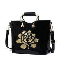 Black Patent Handbags Sale | Luggage And Suitcases