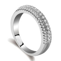 Wholesale Kepler Z11 silver ring beautiful Jewelry The lady like A wedding ring