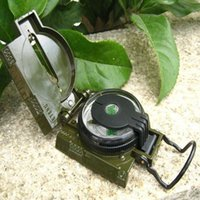 north tools - American style north pointing Outdoors climbing camping necessary tools compass bussola army green