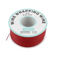 Wholesale PCB Solder Flexible MM Dia Tin Coated Copper Wire AWG Celsius Cable Wrapping Reel Roll M Ft