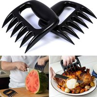 Wholesale BBQ Meat Claws Pulled Pork Shredder Bear Paw Meat Handler Carving Forks Grill Acessories Dishwasher Safe Fre Shipping