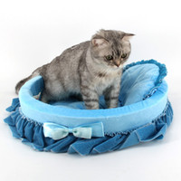 basket mat - Hot Sale Pet Nesting Lovely Dog Beds Cat Mats Puppy Kitten Comfy Basket Cushion Fancy Pad CM JJ0167