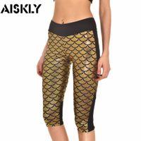 big capri pants - AISKLY Capri Pants Women s Fashion Big Size XL Pants Casual Women Stretch Mermaid Capris Pants