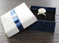 al por mayor regalo de exhibición de la joyería-Exhibición de la manera que empaqueta el regalo cajas del arco caja de la joyería caja pendiente pendientes caja broches corsages empaquetado