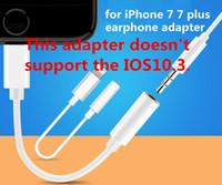 Cheap Earphone Adapter for iphone7 earphone adapter Best For Apple  for iphone 7 earphone adapter
