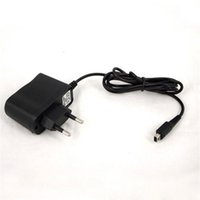 Wholesale 200pcs Wall Charger for Nintendo DSi NDSi LL XL DS Home AC Power Adapter Travel Charger Bubble Bag Package EU