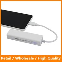 Wholesale USB Type C to Port USB Hub RJ45 Lan Card Gigabit Network Adapter OTG USB C Converter Data Cable for MacBook Tablet