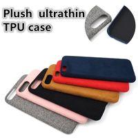 apple ihpone - Plush ultrathin TPU case for iphone ihpone s deer velvet turn fur and super fiber iphone case free shopping
