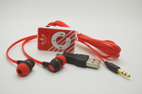 Wholesale 2016 Hot Sale Mini Clip MP3 Music Players Support TF Card With Earphone Mini USB